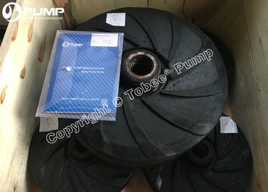 China Warman Replaced Rubber Slurry pump impeller supplier