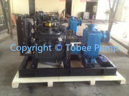 Self priming diesel engine irrigation water pump