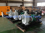 Self priming diesel engine sewage pump
