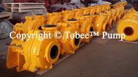 China Tobee® Rubber Lined Slurry Pump China factory