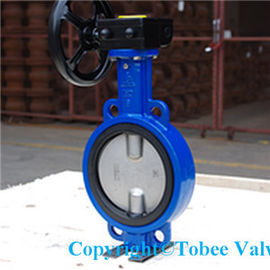 China Wafer Type Double Eccentric Butterfly Valve distributor