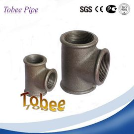 China Malleable iron fittings equal tee distributor
