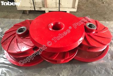 China Polyurethane Slurry Pump Impellers factory