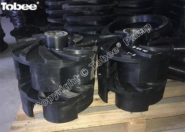 China Slurry Pump Parts Rubber Impeller factory