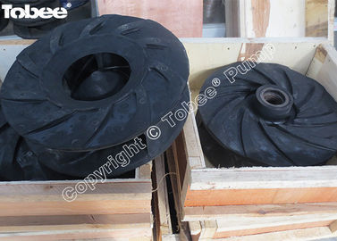 China Rubber replacement slurry pump parts factory
